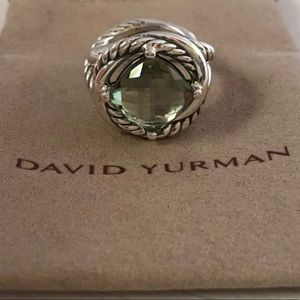 David Yurman 11mm Infinity Ring size 6.5